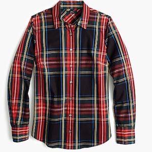 NWT J.Crew Tall slim stretch perfect shirt